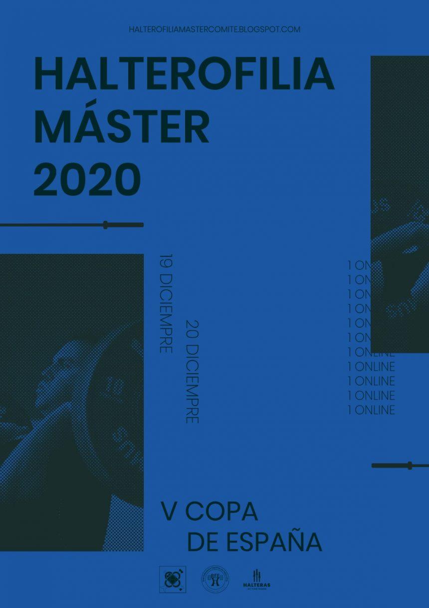 Campeonato de España Halterofilia Máster 2020