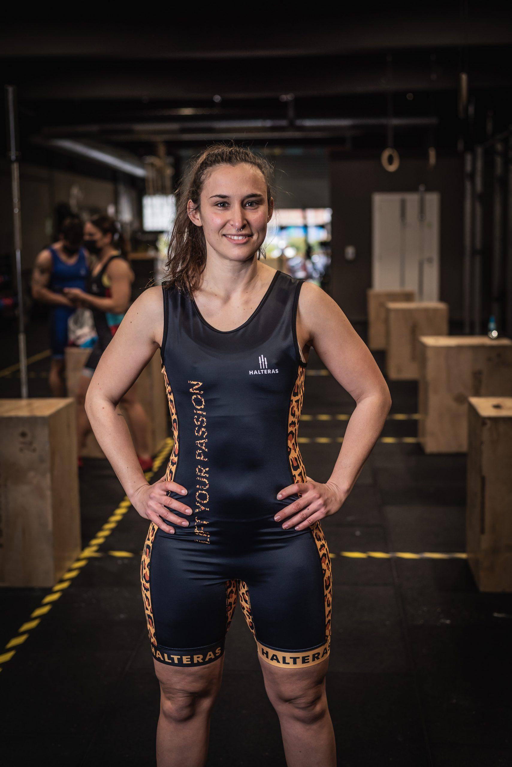 Maillot de weightlifting femenino